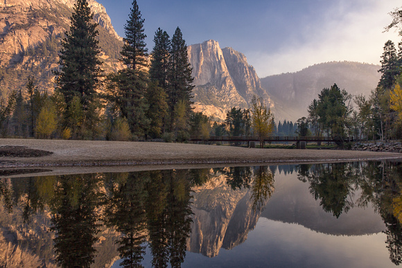 Morning light at Yosemite, California